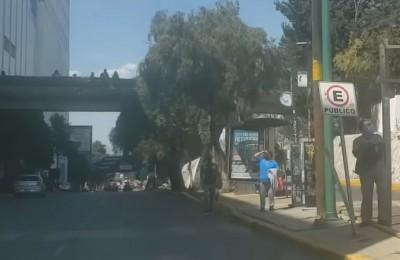 Identifican rutas y paraderos más inseguros en el Valle de México