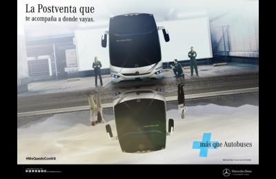 Mercedes-Benz Autobuses refuerza su atención postventa