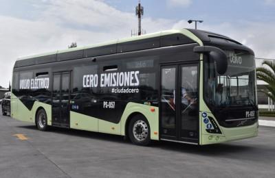 Ponen a prueba bus eléctrico en SIT Optibús