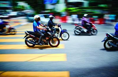 el creciente uso de la motocicleta